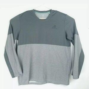 Adidas Mens XL Shirt Long Sleeve Pullover